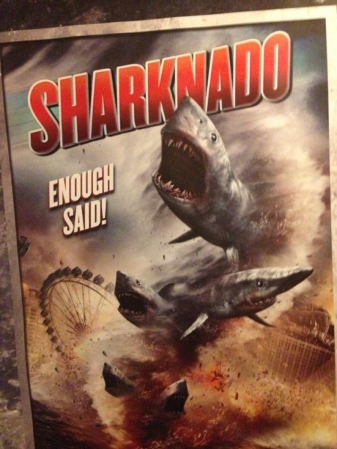 Beware the Sharknado!