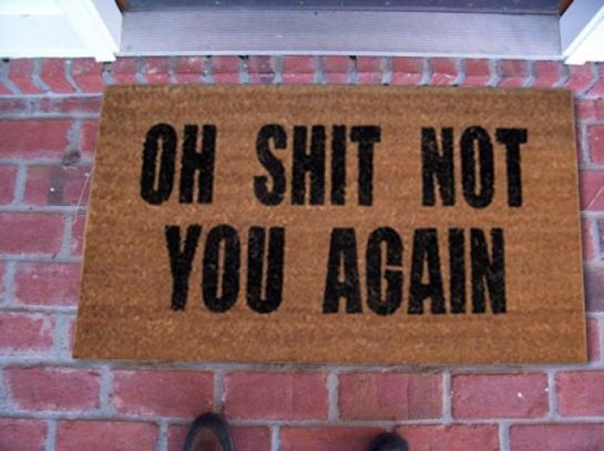 The honest doormat