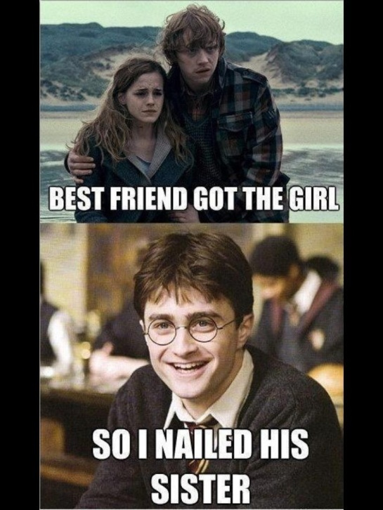 Nice one, Harry