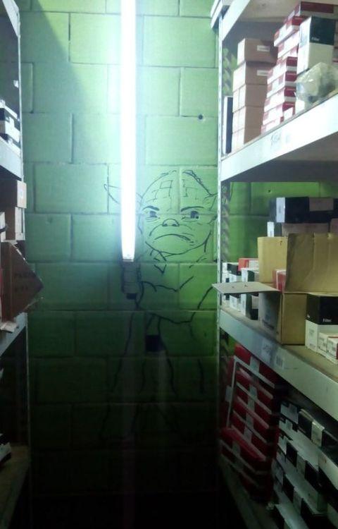 Yoda light saber